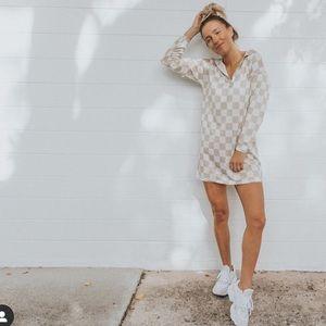 NWT✨ Nasty gal checkered dress